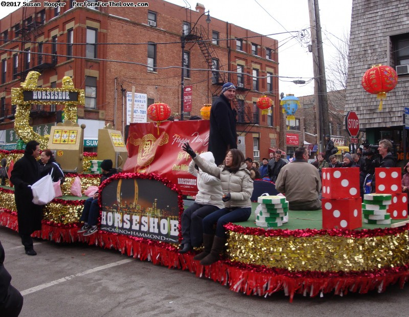 Chinese New Years Parade in Chinatown.