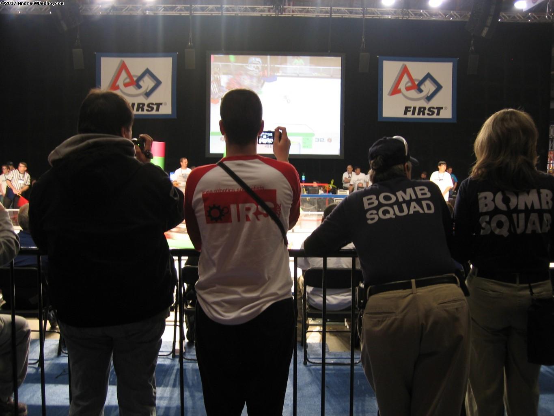 F.I.R.S.T. Robotics Competition Regionals at UIC Pavilion.