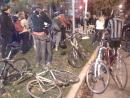 Liza Whitacre ghost bike ceremony. (click to zoom)