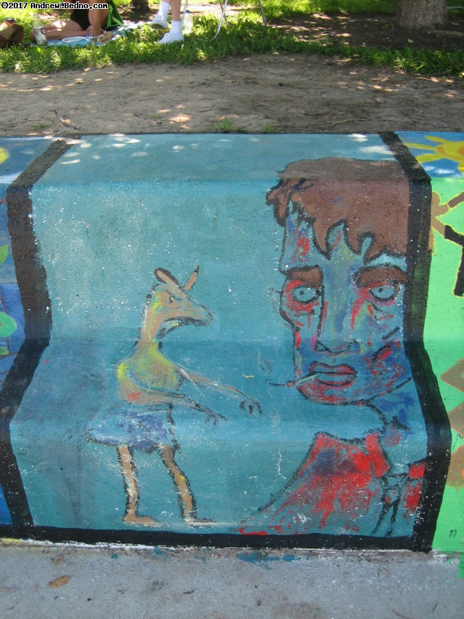 Artists of the Wall Festival in Rogers Park.