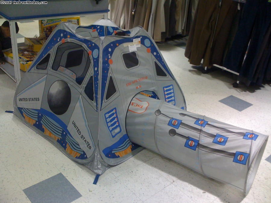 Space Shuttle Tent