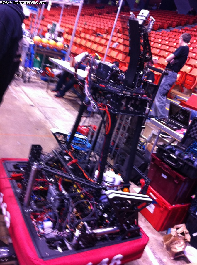 F.I.R.S.T. Robotics Competition Regionals at UIC Pavilion.