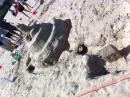 Sand Castle Competition on Osterman Beach. (click to zoom)