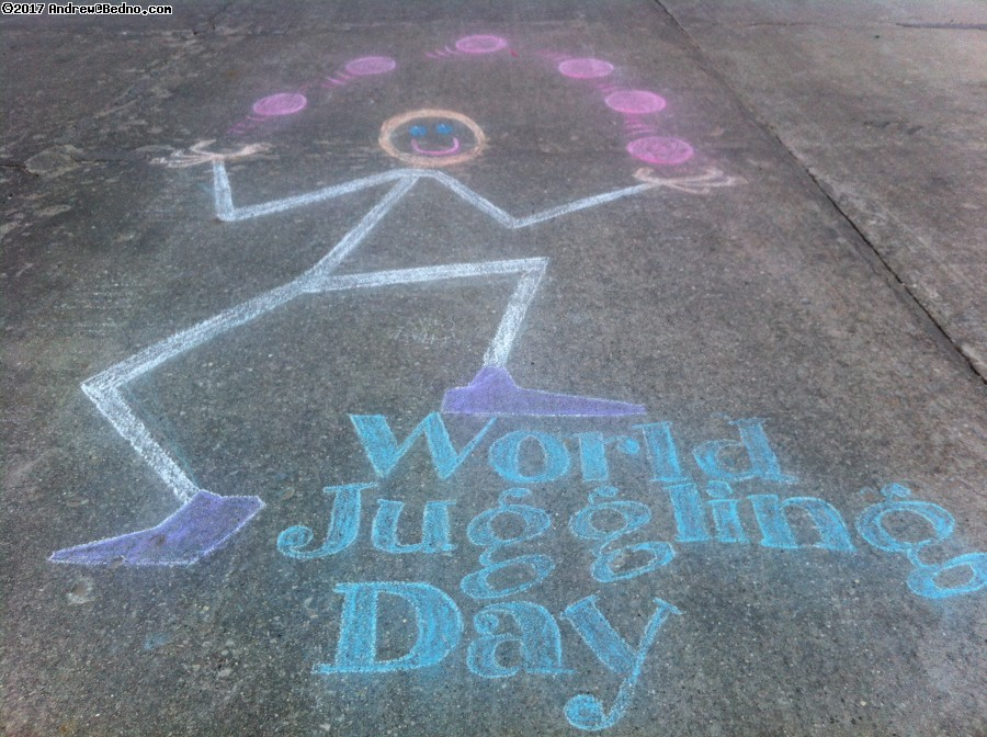 World Juggling Day