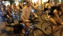 4000 Cyclists Set New World Naked Ride Chicago Record! (click to zoom)