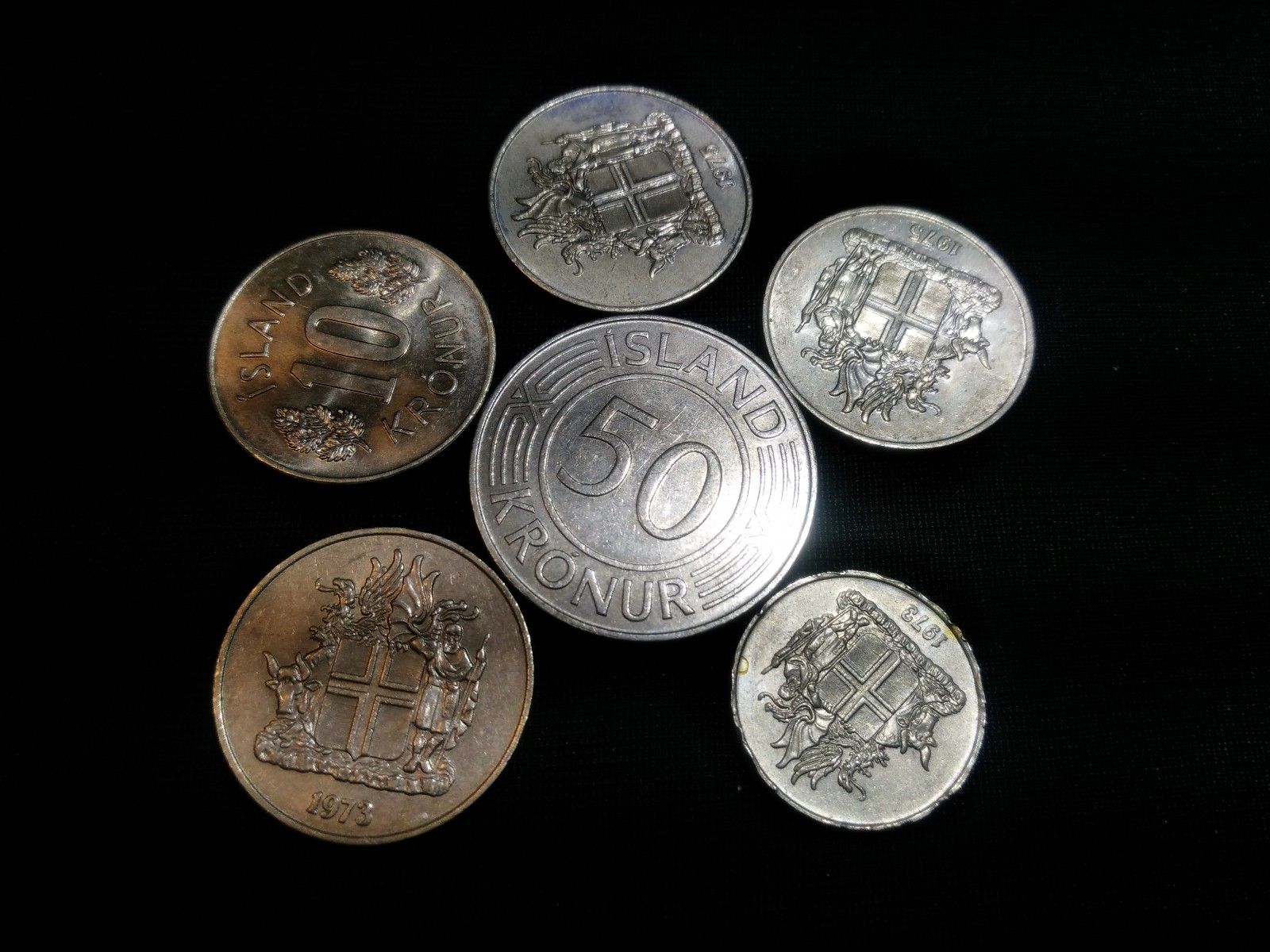 Coins: Iceland
