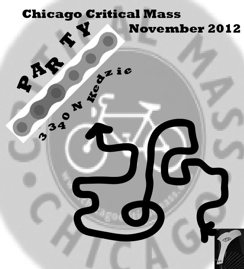 Chicago Critical Mass 2012.11.30
