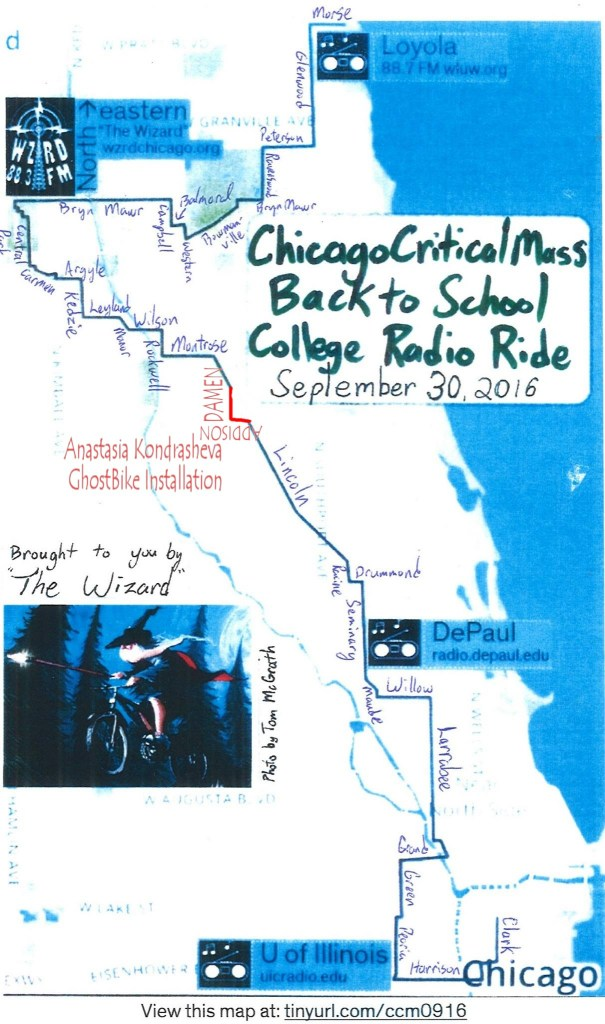 Chicago Critical Mass 2016.09.30