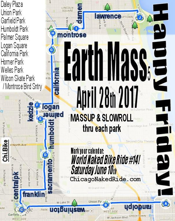 Chicago Critical Mass 2017.04.28