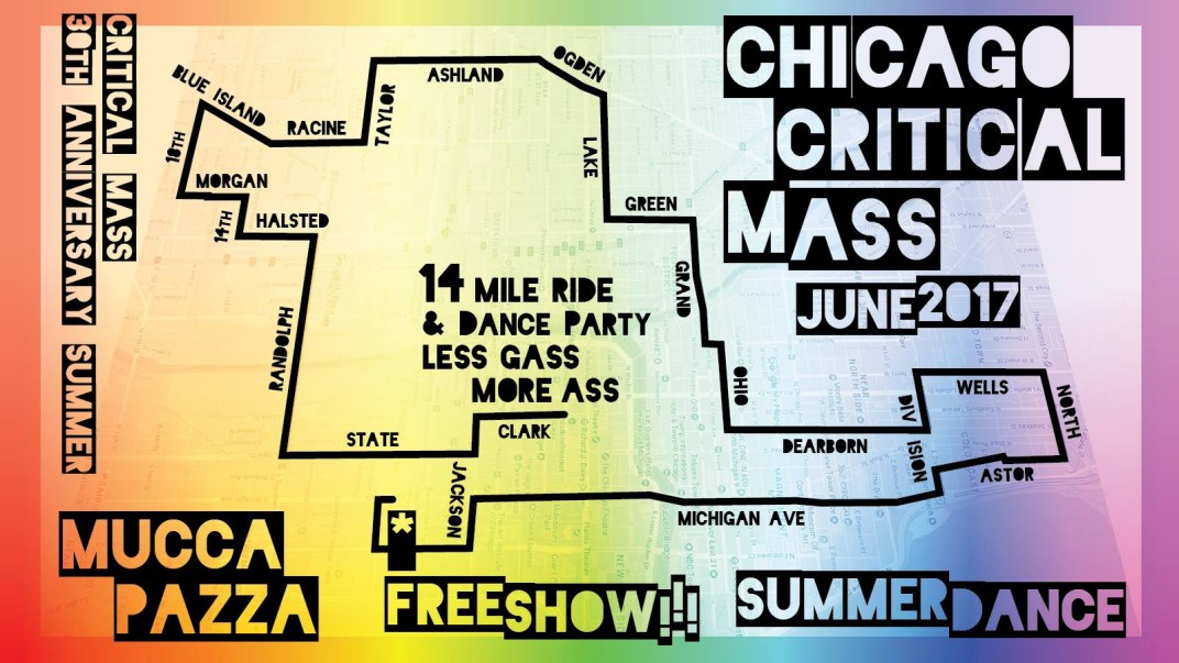 Chicago Critical Mass 2017.05.26