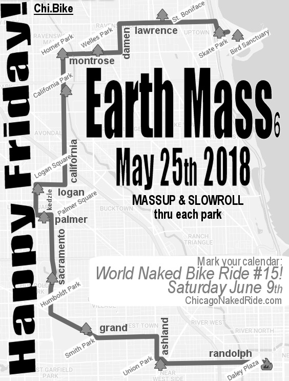 Chicago Critical Mass 2018.05.25