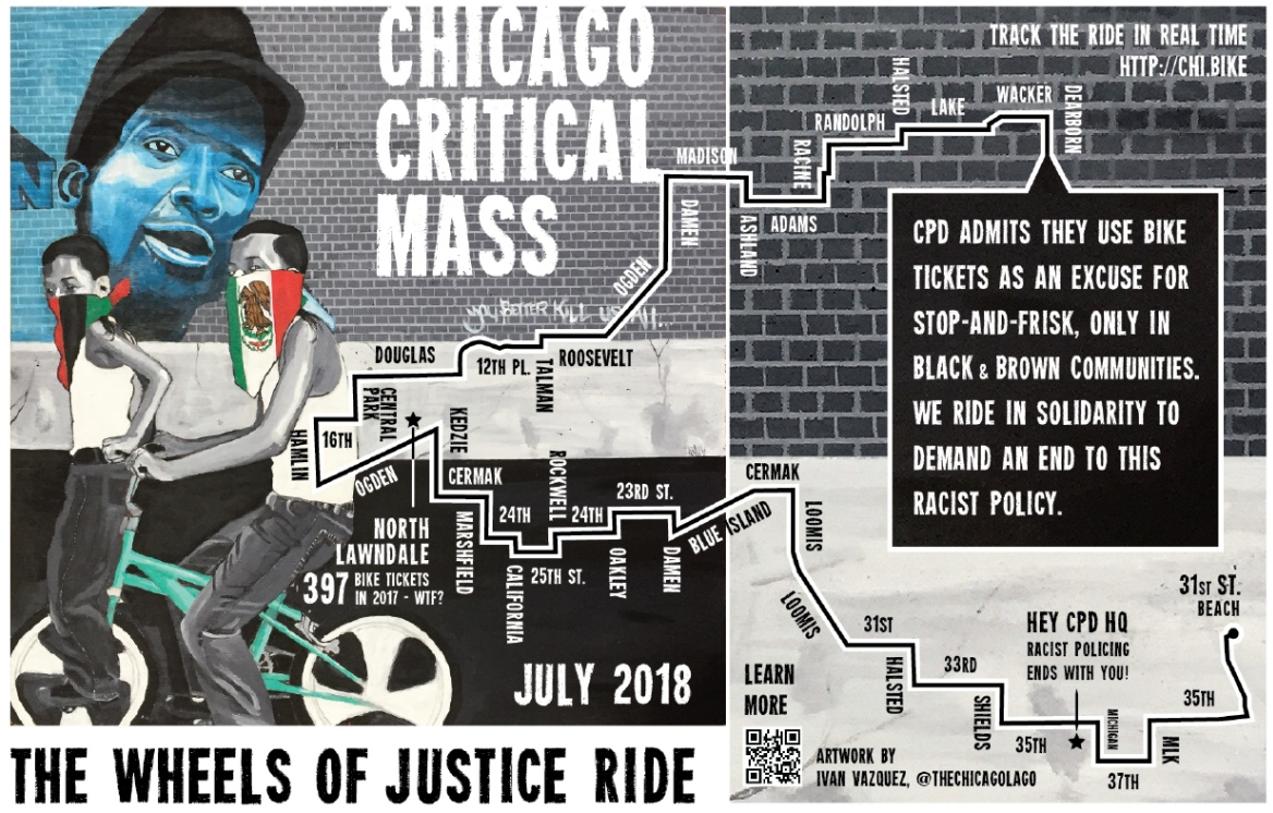 Chicago Critical Mass 2018.07.27