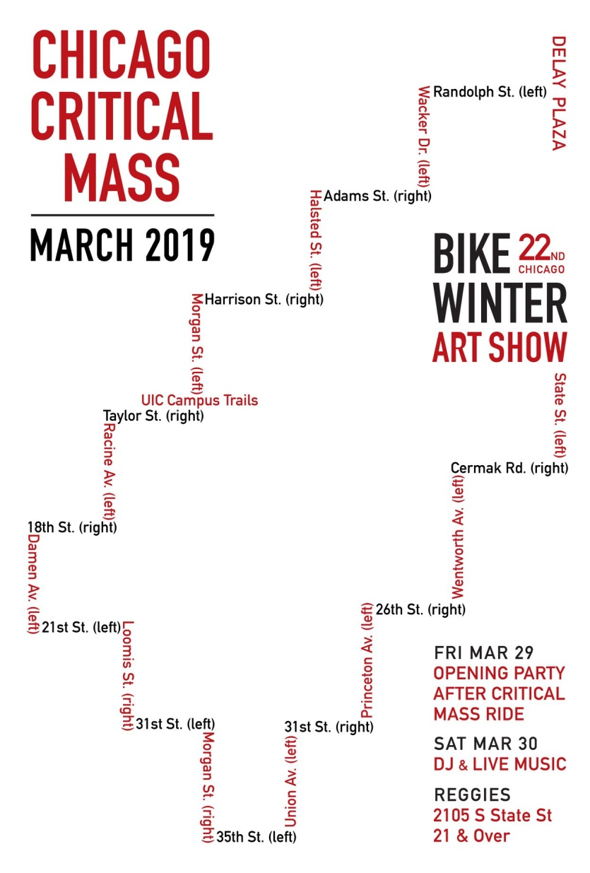 Chicago Critical Mass 2019.03.29