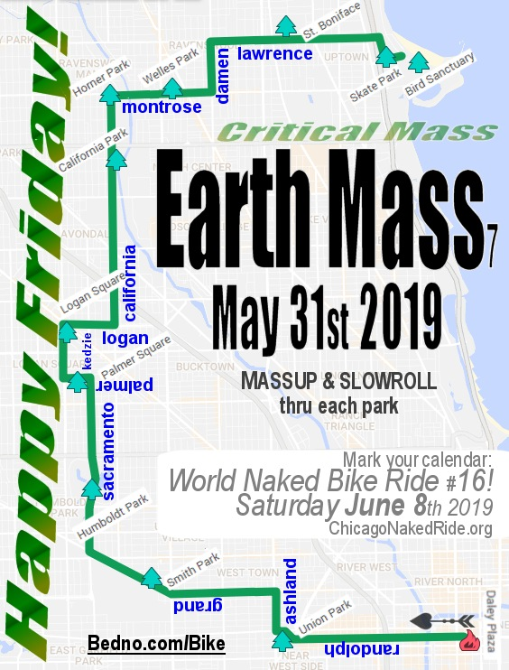 Chicago Critical Mass 2019.05.31