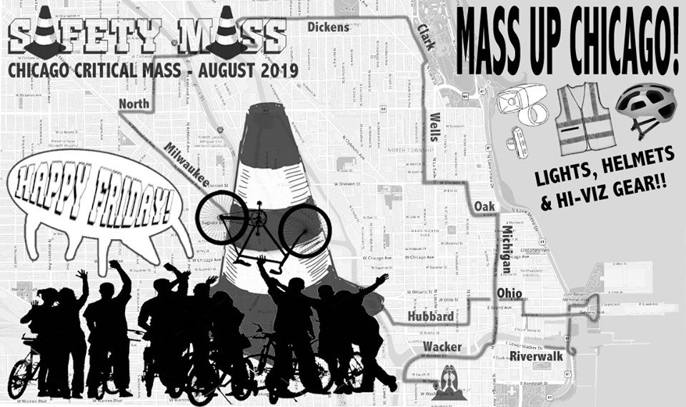 Chicago Critical Mass 2019.08.30