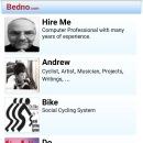Sample site design screen captures