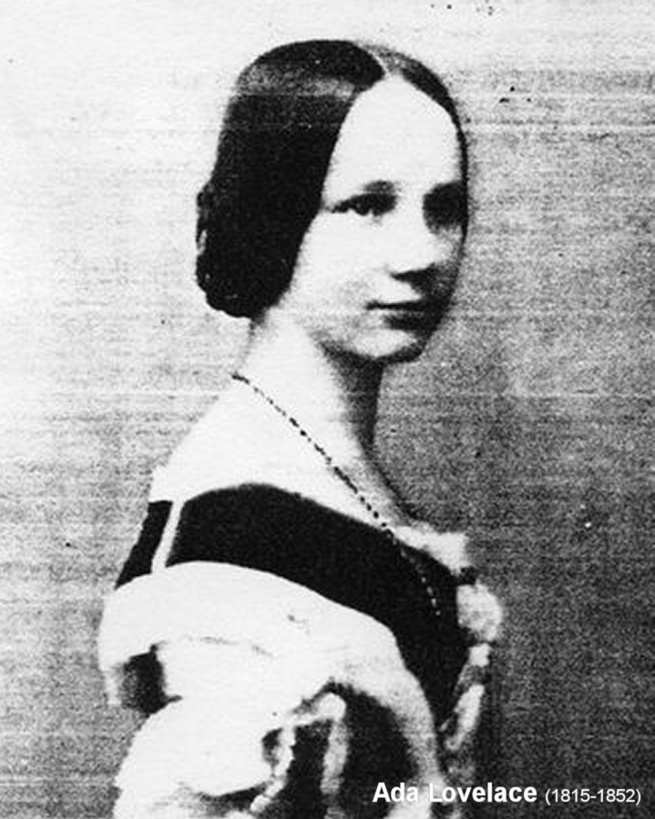 Ada Lovelace (1815-1852) (click for next photo)