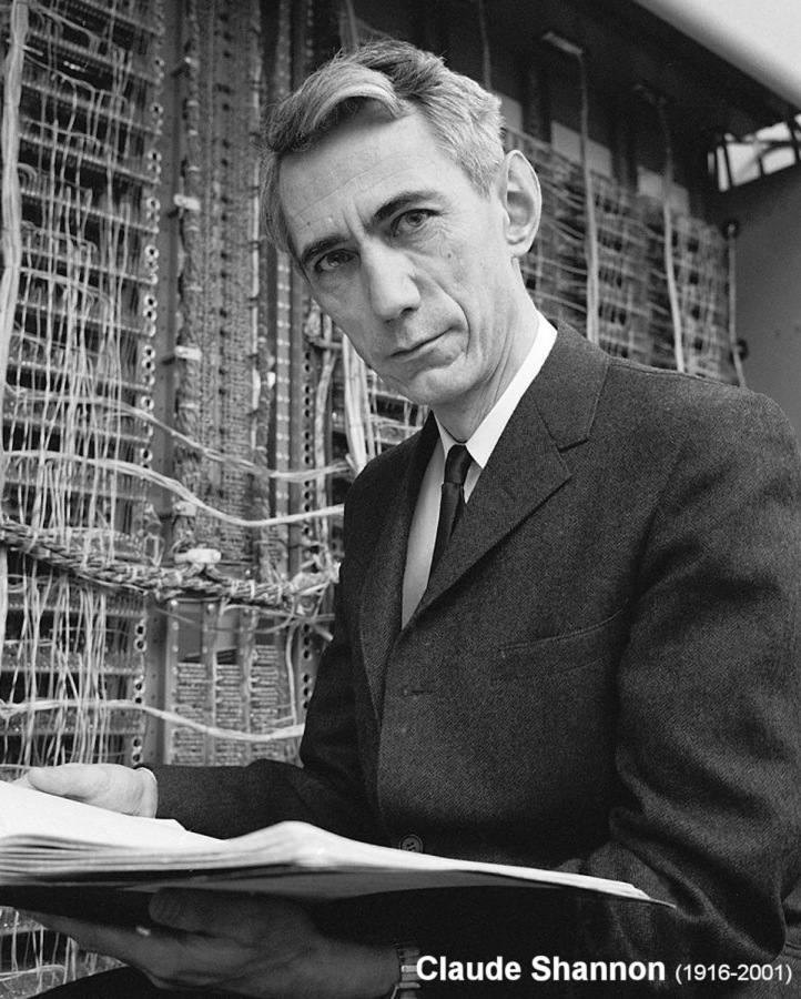 Claude Shannon (1916-2001) (click for next photo)