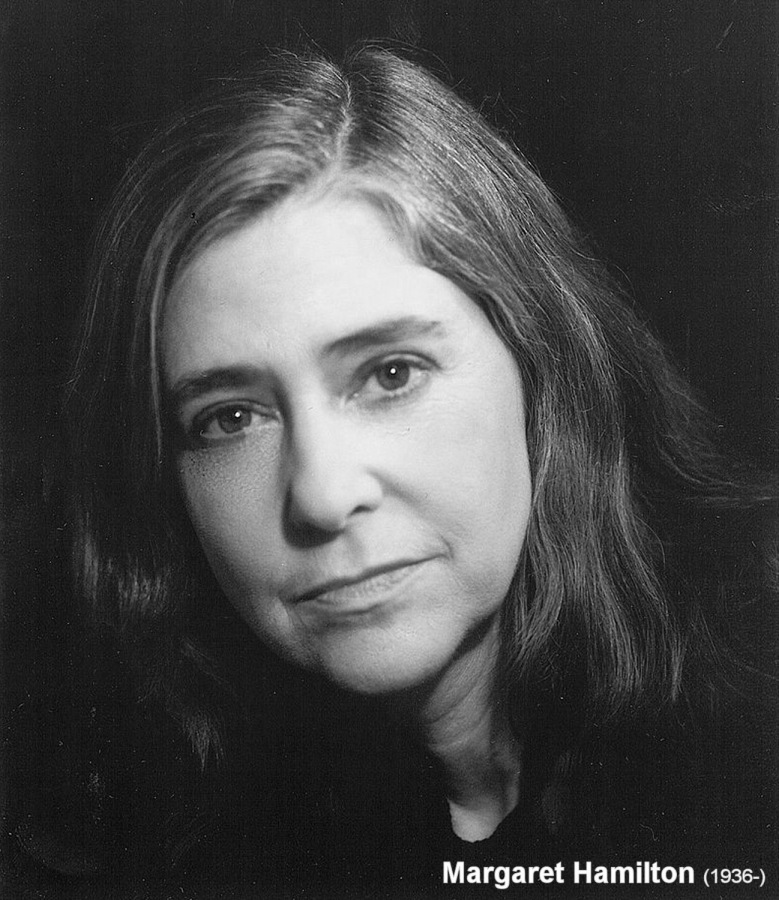 Margaret Hamilton (1936-) (click for next photo)